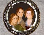 Bronte sisters Frame Pendant