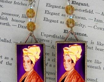 MARIE LAVEAU Voodoo Queen of New Orleans EARRINGS