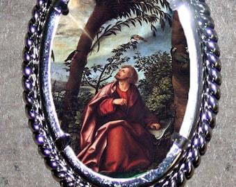 Saint John Frame Pendant
