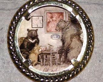 Three Bears Frame Pendant