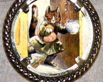 Puss in Boots Frame Pendant