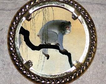 Monkey Frame Pendant