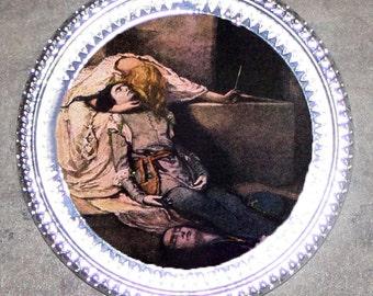 Romeo and Juliet Death Scene Frame Pendant