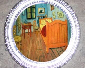 Bedroom Van Gogh Frame Pendant