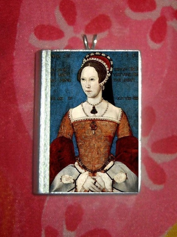Portrait as Princess - MARY TUDOR - Queen known as bloody mary - PENDANT