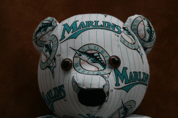 Marlins Teddy Bear Florida Baseball Miami MLB