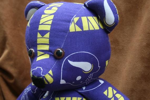Vikings Teddy Bear - Minnesota Football