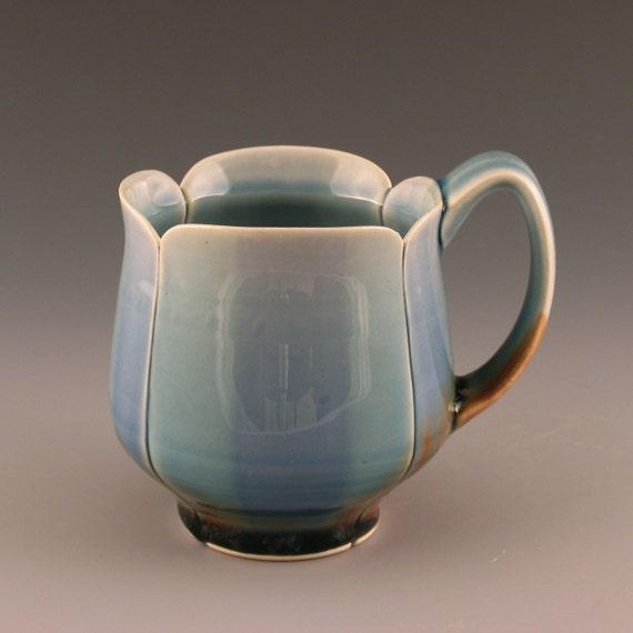 Blue Stripe Coffee Mug