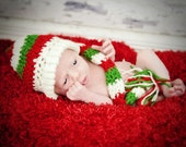 Christmas Long Tail Elf Hat