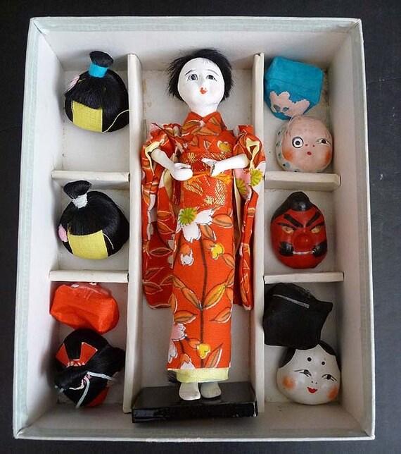 Geisha Doll Wigs 56