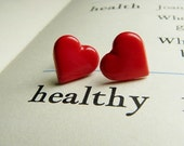 Have a Healthy Heart -  Post earrings