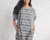 oversize gray stripe tunic (s-l)