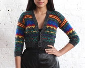 SALE tribal print cardigan (xs)