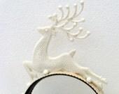 Dashing Reindeer Headband - White Ice Princess Tiara
