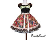 SALE Dolly Frilly Treasure Chest inspired One of a kind Priscilla Dress