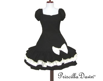 Black and White Truffle Lolita Dress  --------Custom Size and Color