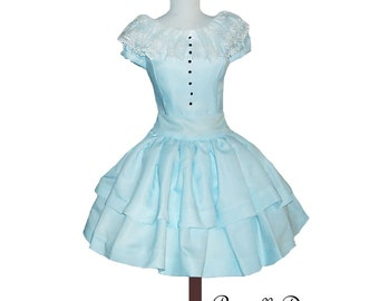 Custom in your size Alice Teaparty Dress