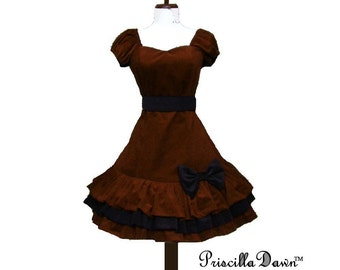 Custom Size Chocolate Lolita Dress