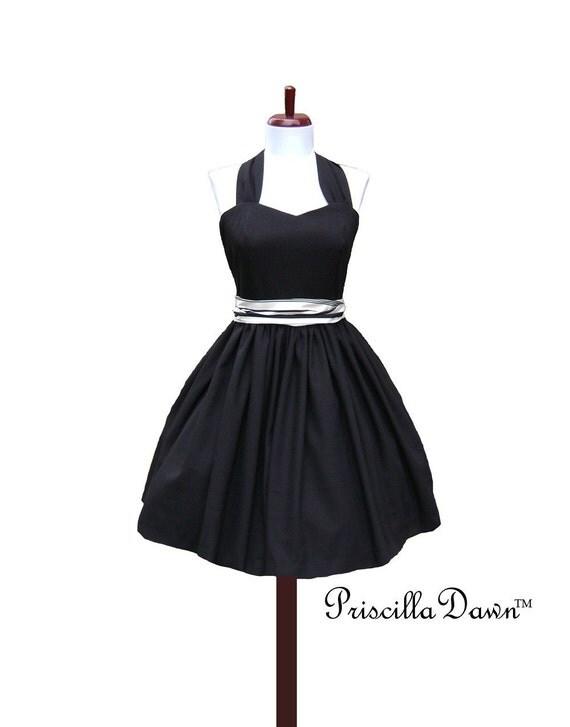 SALE CUSTOM in YOUR Sized Little Black Dress