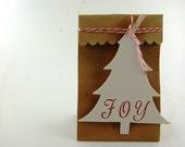 Pretty Packaging Christmas Tree Tags Kit