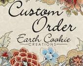 Reserved Custom Order for lesleerabuchin