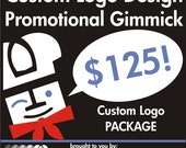 Custom Logo Design Promotional Gimmick