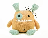 Penelope The Empathetic Monster Knitting Pattern Pdf INSTANT DOWNLOAD