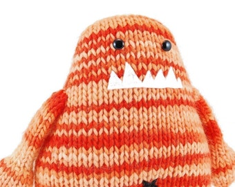 Maddox The Mischievous Monster Knitting Pattern Pdf INSTANT DOWNLOAD