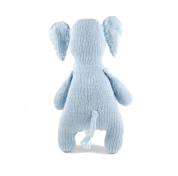 Esther the Eccentric Elephant Knitting Pattern Pdf INSTANT DOWNLOAD from dang...