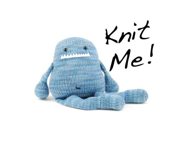 SALE Iris the Gourmet Monster Knitting Kit in Avondale