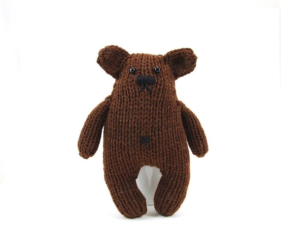 Herman The Enigmatic Bear Knitting Pattern Pdf INSANT DOWNLOAD