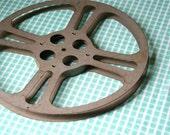 Vintage Metal Movie Reel