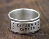 Personalized daddy ring (E0234)