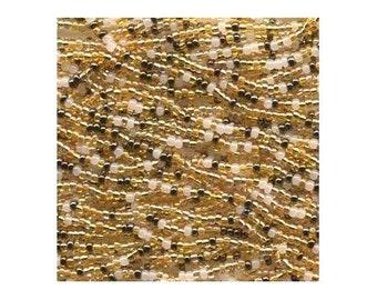 Czech Seed Beads 6/0 Honey Butter Mixture 31601 (6 strand hank) Glass