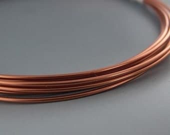 Artistic Wire 12 Gauge Natural Copper 41915 Round Shiny 10 feet  Thick Round Wire, Jewelry Wire, Craft Wire, Copper Wire, Wire Wrapping