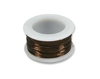 Vintage Bronze Color Wire Beadsmith 18 gauge 7yd Spool 41521  Beadsmith Wire, Round Jewelry Wire, Vintage Bronze Craft Wire, 28 Gauge Wire