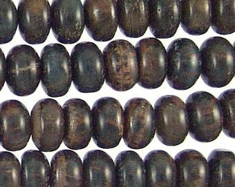 Blue Tiger Eye Beads 8mm Rondelle 78554