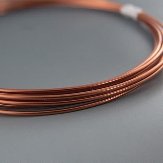 Artistic wire 10 gauge bare copper 41436 5ft copper round for 10 gauge craft wire