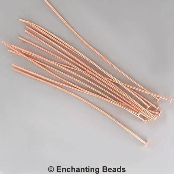 2 inch 21ga Copper-Plated Headpins 42917 (144)