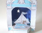 Sailing Hare Paper Theater