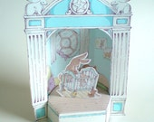 Mother and Little Baby Hare Paper Theater