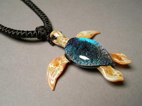 Sea Turtle Choker Pendant Necklace