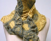 Sunflower Clusters Scarf