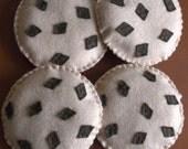 Felt Cookies - Pretend Play Food