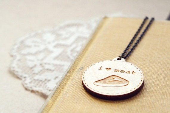 treasure - a meat necklace.
