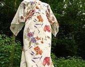 vintage asian style long dress