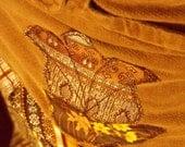 Autumn shades - a vintage necktie skirt