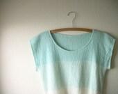 Vintage Ombre Knit Shirt