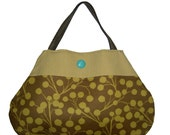 The WILLOW BAG In Gold Dandelion