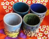 Japanese Style Tea Cups- People